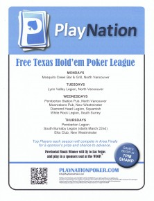 Play poker for points, not cash, at LV Legion