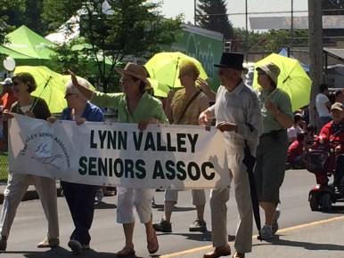Neighbourhood seniors are well represented by the LV Seniors' Association.