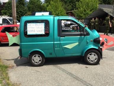 Great salmon car from the North Van Outdoor School alumni.