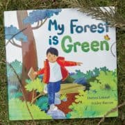 Local forests inspire author