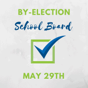 School board trustee by-election May 29